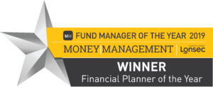 Cooper Wealth Management Award - Money Management Financial Planner of the Year 2019 - Felicity Cooper